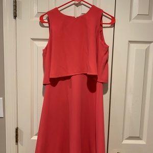 Calvin Klein cocktail dress size 6 in bright pink